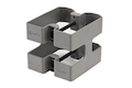 MFT M4/M16 Mag Coupler (M16MC). Manufactured From High Density Polymer - GREY