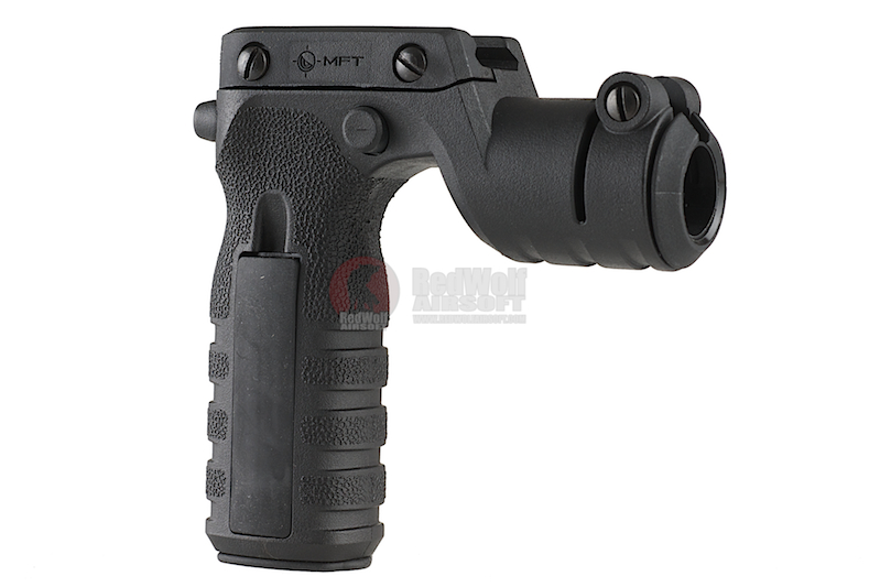 MFT React Torch and Vertical Grip (RTG). Vertical grip with illumination mount - BK