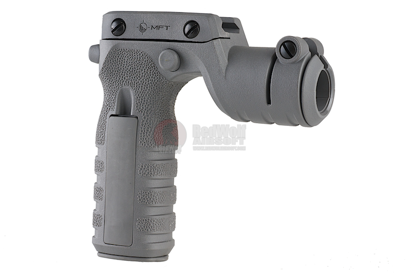 MFT React Torch and Vertical Grip (RTG). Vertical grip with illumination mount -  GREY