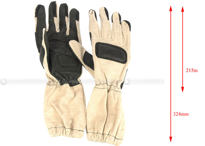 Milspex Kevlar Operator Gloves Tan (S)<font color=red> (Holiday Blowout Sale)</font>