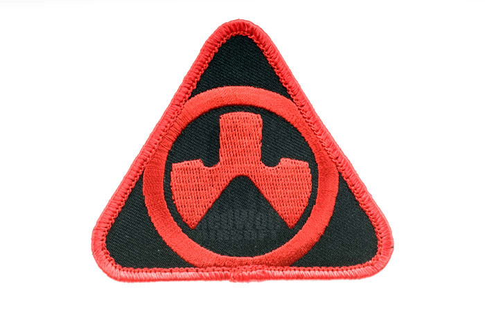 Magpul PTS Dynamics Logo Patch (Red / Black)