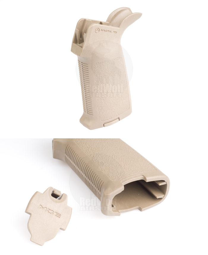 Magpul PTS MOE Grip for (WA) Western Arms GBB Series (Desert Earth)