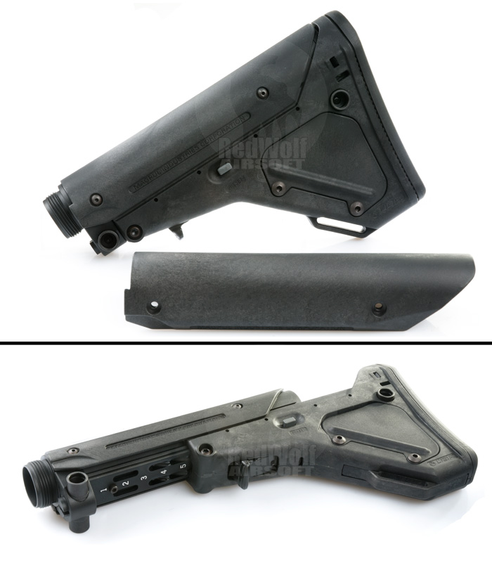 Magpul PTS UBR Stock for GBB (Black)