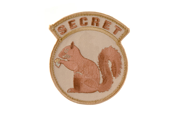 MSM Secret Squirrel Patch (Desert)