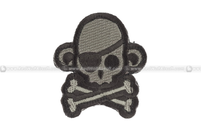 MSM Skull Monkey Pirate Patch (ACU D)