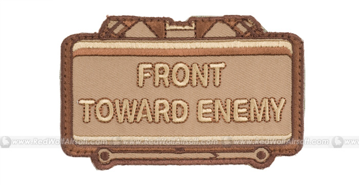 MSM Front Towards Enemy Patch (Desert)