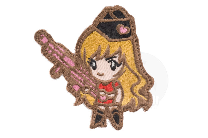 MSM Gun Girl 1 Patch (Subdued)