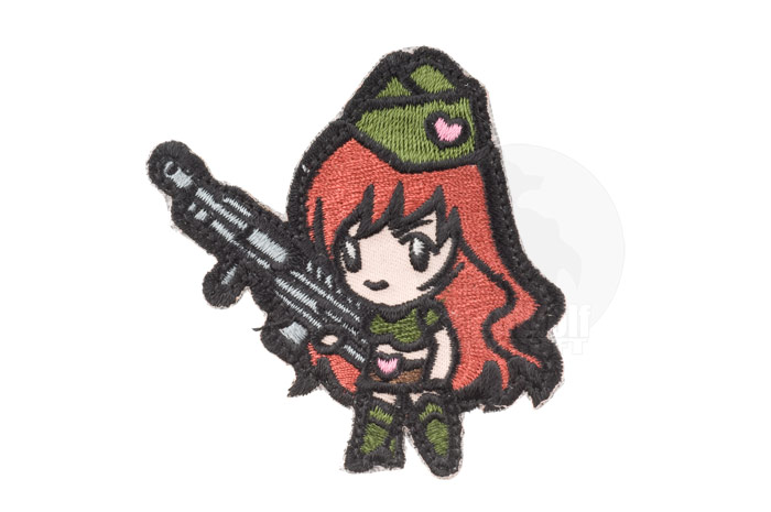 MSM Gun Girl 1 Patch (High Contrast)