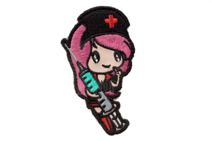 MSM Nurse Girl Patch (Goth)