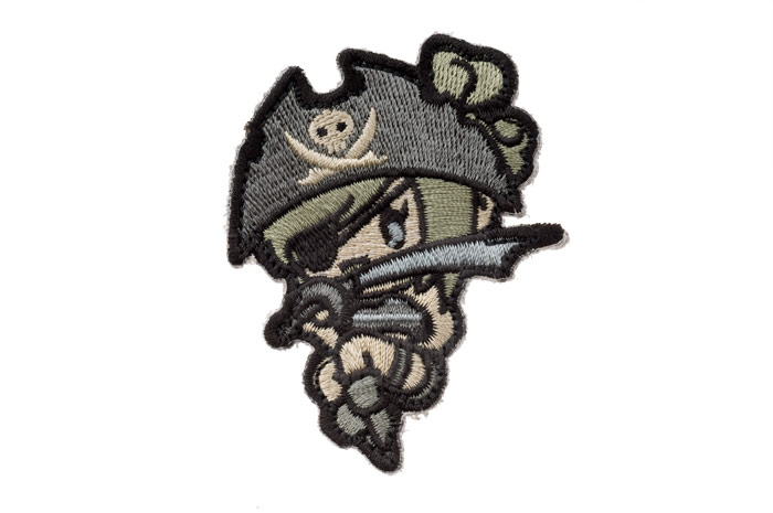 MSM Pirate Girl Patch (ACU)