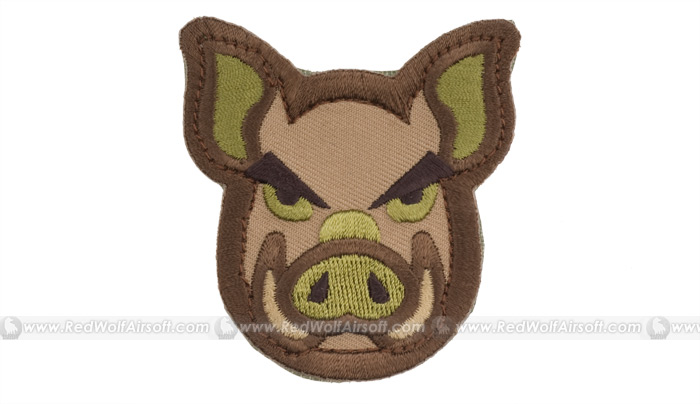MSM Pig Head Patch (Arid)