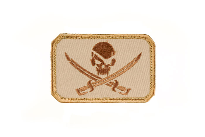MSM Pirate Skull Flag Patch (DT)