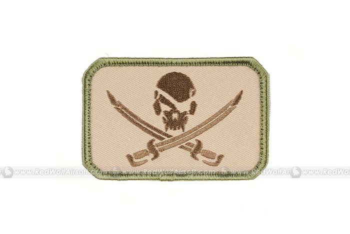 MSM Pirate Skull Flag Patch (MC)