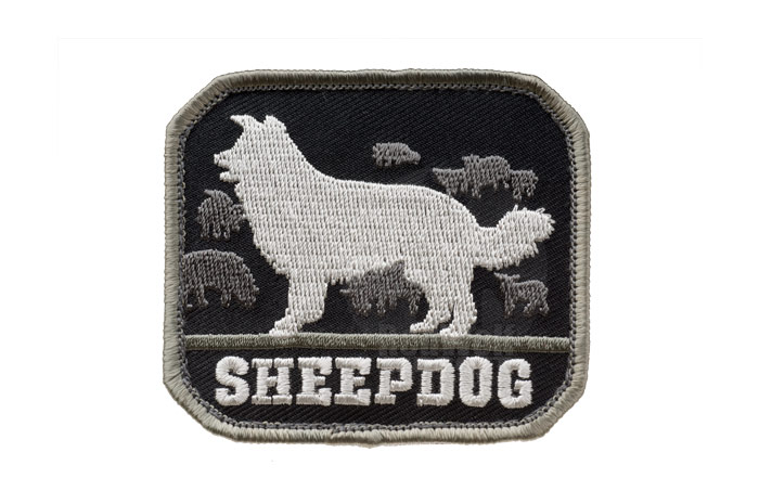 MSM Sheep Dog Patch (SWAT)