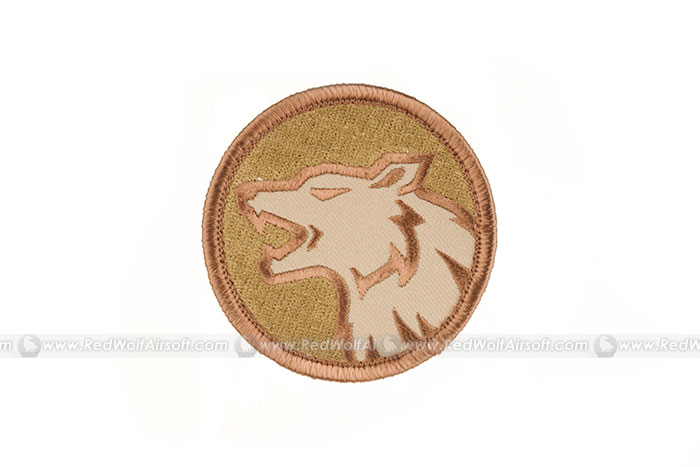 MSM Wolf Head Patch (DT)