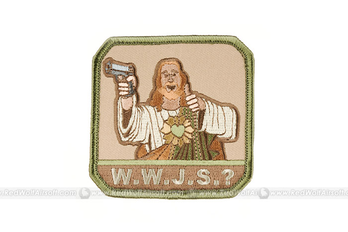MSM Who Would Jesus Shoot? Patch (ARID)