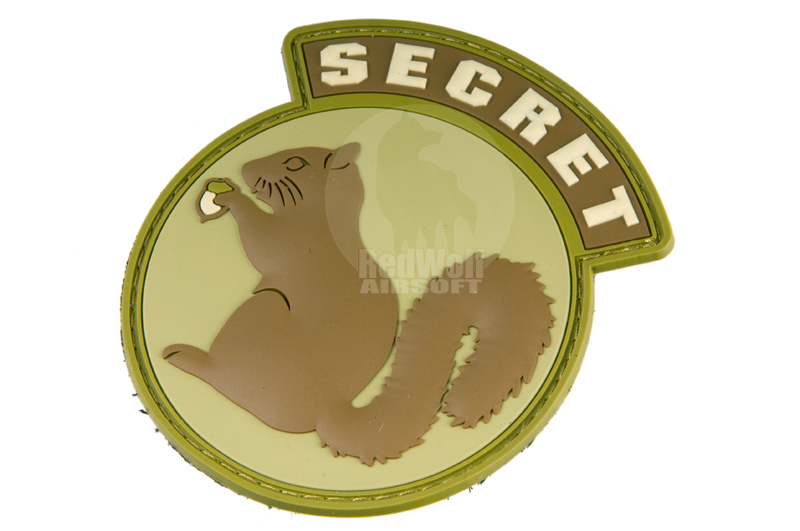 MSM Secret Squirrel PVC Patch (DESERT)