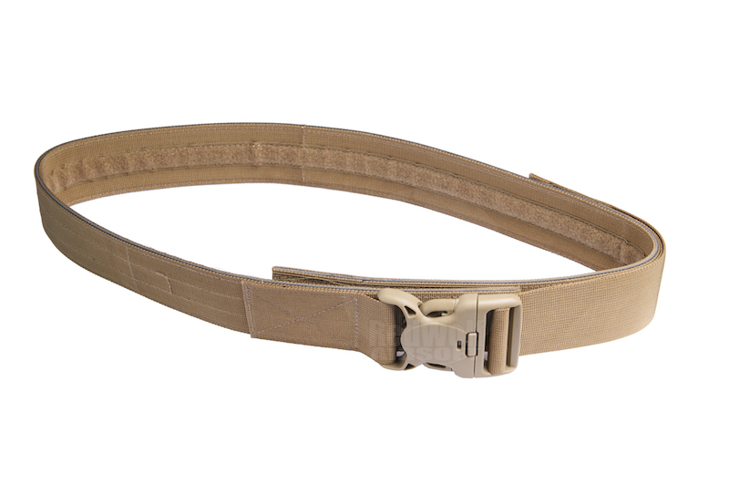 Milspex Military Belt With Double Release Buckle (90-108cm / Tan)<font color=red> (Holiday Blowout Sale)</font>