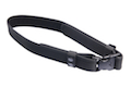 Milspex Waist Belt With Double Release Buckle (80-120cm / Black)<font color=red> (Clearance)</font>
