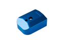 Milspex Metal Magazine Base For Marui / WE Hi-Capa (Blue)
