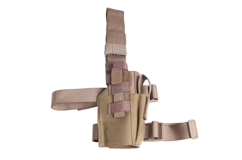Milspex Pistol Holster (Right Hand Use) (TAN)<font color=red> (Holiday Blowout Sale)</font>
