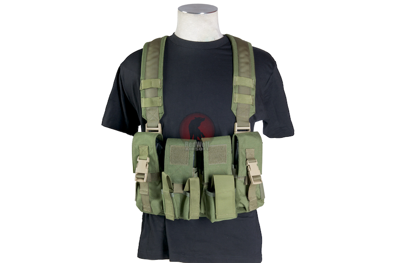 Milspex SF Chest Vest - OD<font color=red> (Holiday Blowout Sale)</font>
