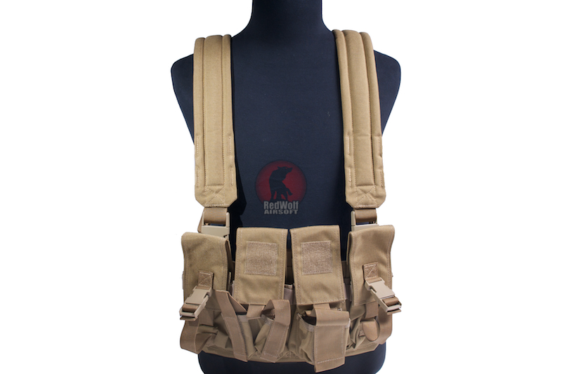 Milspex SF Chest Vest- TAN<font color=red> (Clearance)</font>