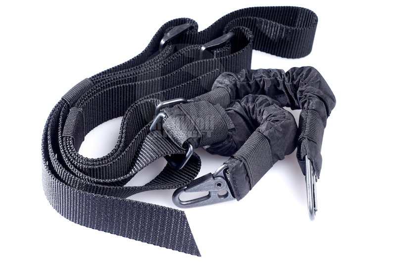 Milspex Two-Point Bungee Sling (Black)<font color=red> (Holiday Blowout Sale)</font>