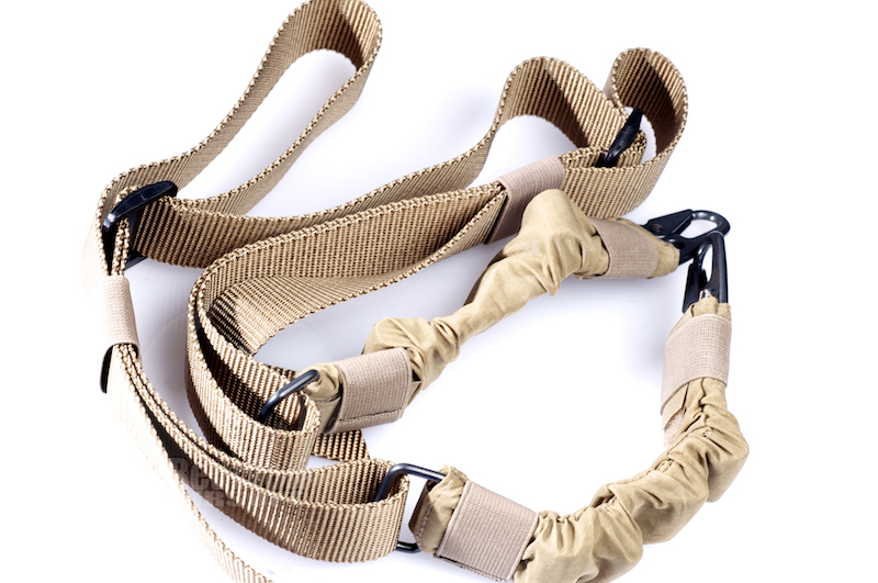 Milspex Two-Point Bungee Sling (TAN)<font color=red> (Holiday Blowout Sale)</font>