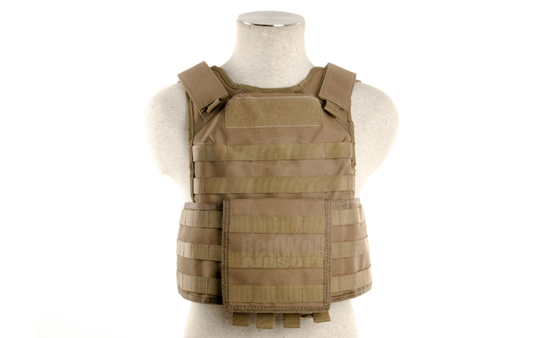 Milspex MPS Vest with Dummy Plate Inserts (Tan)