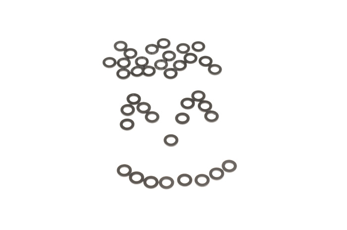 Systema Shims for Fixed Screw (Set of 2) for Systema PTW
