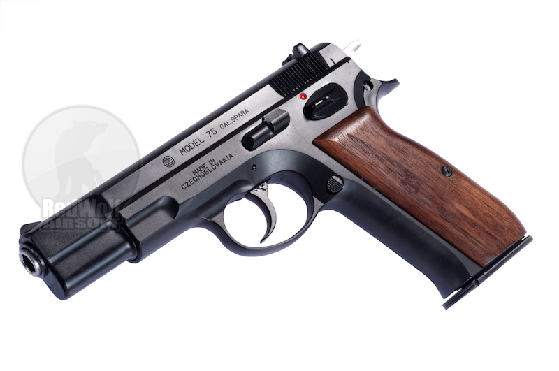 Marushin Cz75 Dual Maxi Ver.2 (Shell Ejecting / Black / 6mm BBs)<font color=red> (Holiday Blowout Sale)</font>