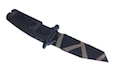 TSC MAD WARRIOR FULCRUM C Desert Warfare Dummy Pattern Knife (Black)