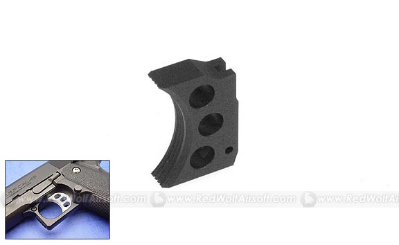 Nine Ball Trigger for Marui Hi-Capa 5.1 (Black, Short)