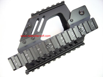 Nitro.Vo Rail Hand Guard for P90