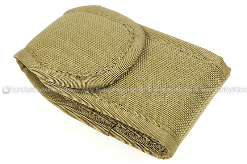 PANTAC Shoulder Carry Belt Mini Pouch (Khaki / CORDURA)