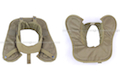 Pantac Outer Tactical Vest Neck Pad (Khaki, Cordura) <font color=red>(Clearance)</font>