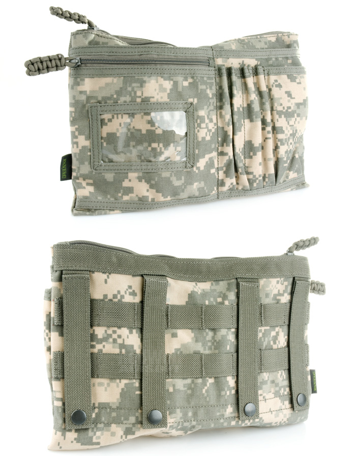 PANTAC Messenger Accessory Pocket Type B (ACU / Cordura) <font color=red> (Holiday Blowout Sale)</font>