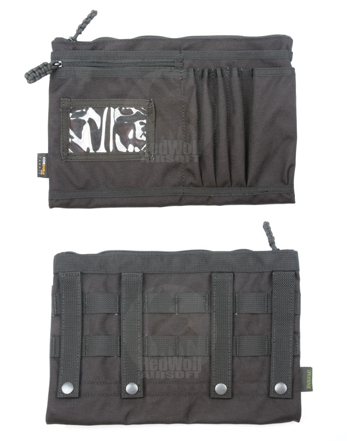 PANTAC Messenger Accessory Pocket Type B (Black / Cordura)
