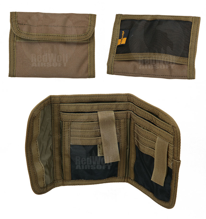 PANTAC Mod K Wallet (Coyote Brown / Cordura)