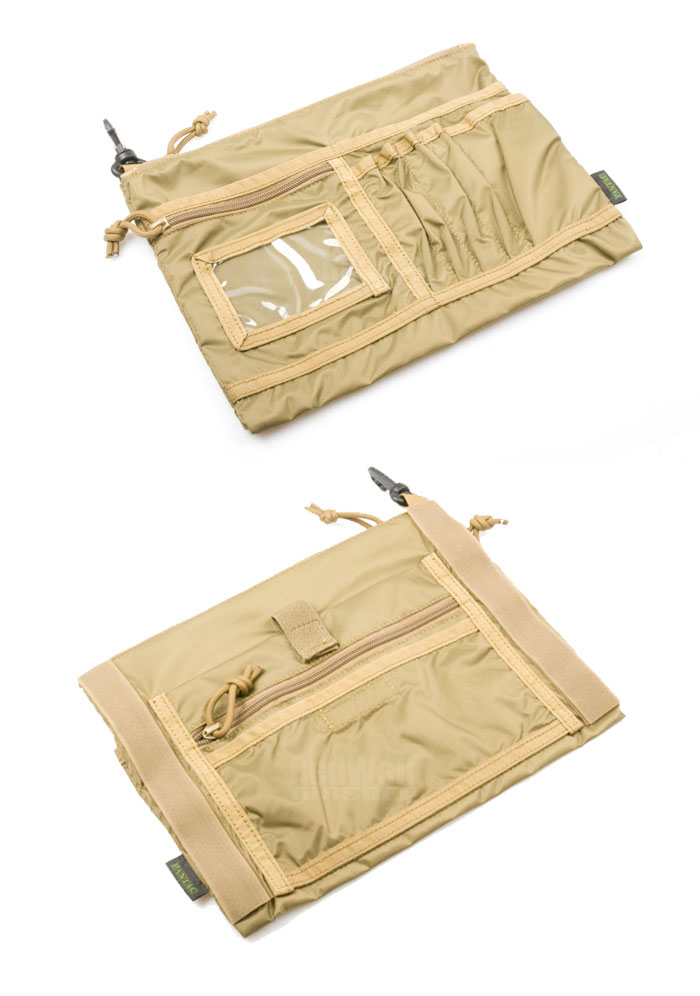 PANTAC Messenger Accessory Pocket Type A (Khaki)