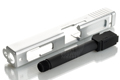 PGC Metal Slide with Screw Barrel for Marui Model 18 (Silver)