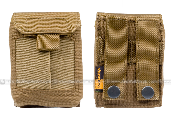 PANTAC Molle Medical Gloves Pouch (Coyote Brown / Cordura)