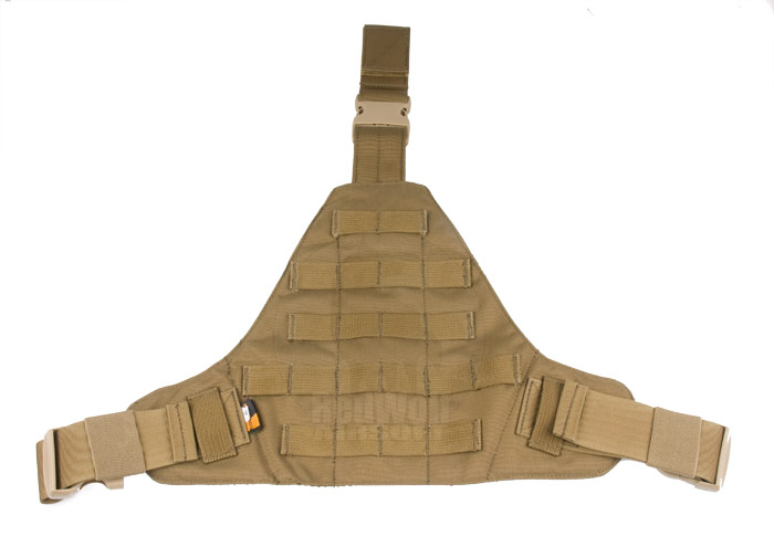PANTAC Molle Triangular Leg Panel (Small / CB / Cordura)