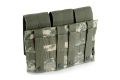 PANTAC Triple M4 Mag Pouch (ACU / Cordura) <font color=red> (Holiday Blowout Sale)</font>