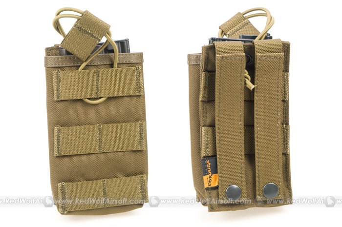 Pantac OPEN TOP Single MAGAZINE Pouch (CB / CORDURA)