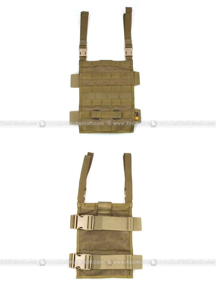 PANTAC MOLLE Upright Drop Leg Panel (CB / CORDURA)