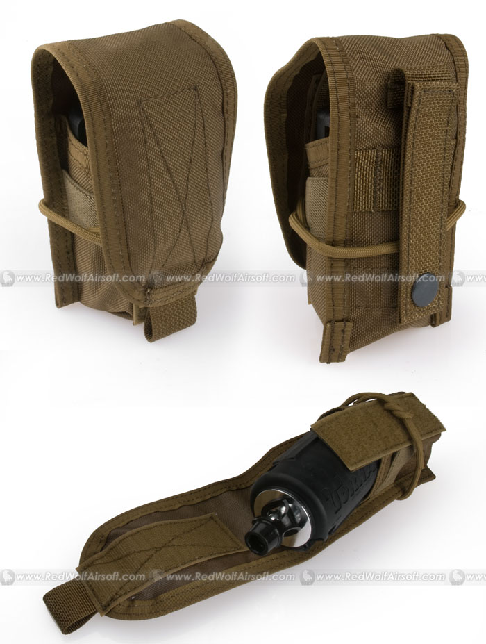 PANTAC Molle Tornado Grenade / Flash Light Holder (CB / Cordura)