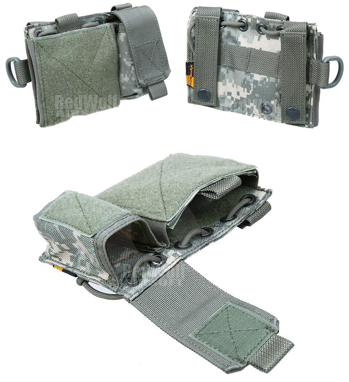 PANTAC Molle Small Admin Pouch (ACU / Cordura) <font color=red> (Holiday Blowout Sale)</font>