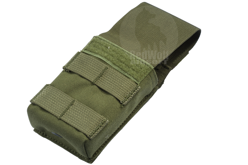 PANTAC Molle Single M16 Pouch with Solid Insert (Cordura / Olive Drab)